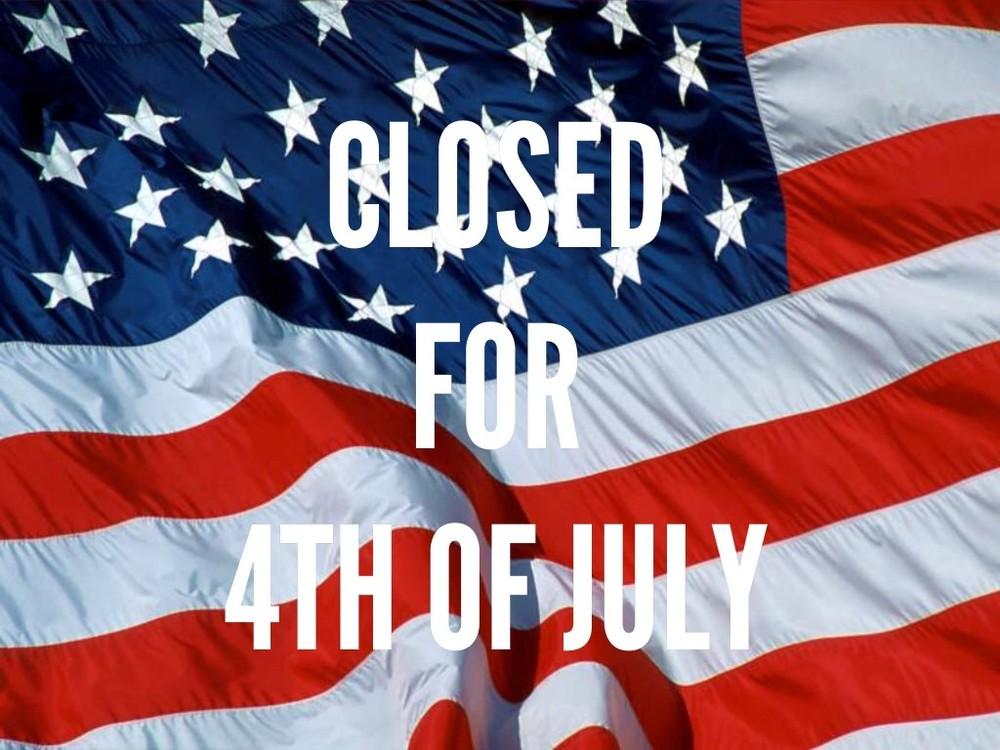 closed july 4th