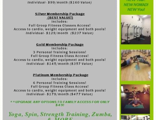 Membership Specials!