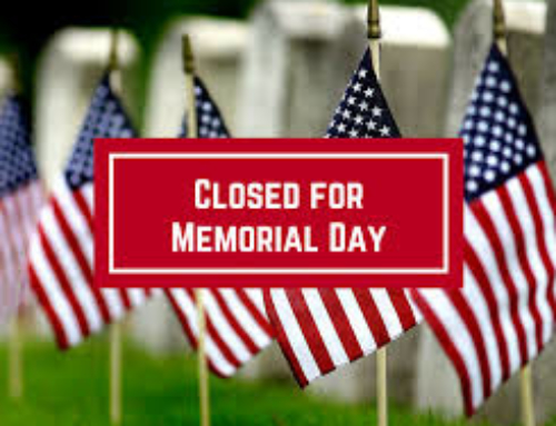 NOMAD Closed-Memorial Day 2019