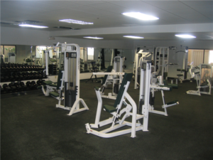 Workout room at nomad