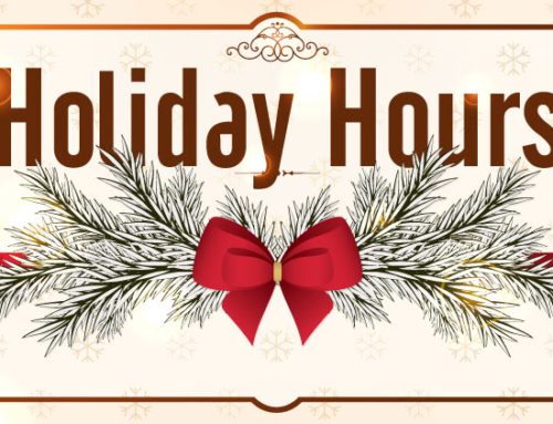 NOMAD Holiday Hours